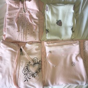 4 piece Christine Alexander set light pink